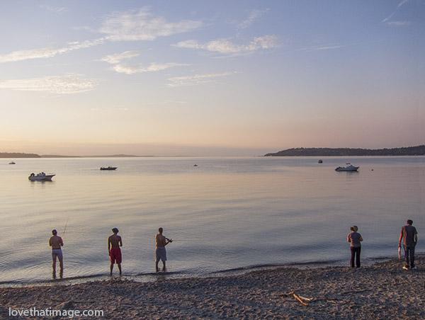 Fishing at sunset sara 39 s fave photo blog for Fishing puget sound