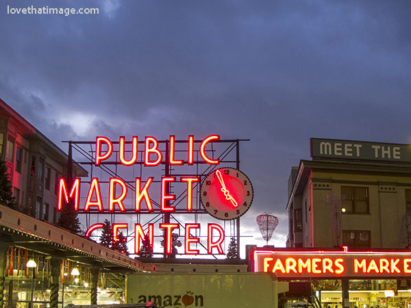 Pike Place Market Sign Sara S Fave Photo Blog