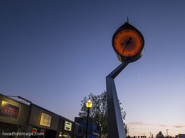 More sculpture than clock, Burien is lucky to have this special timepiece.