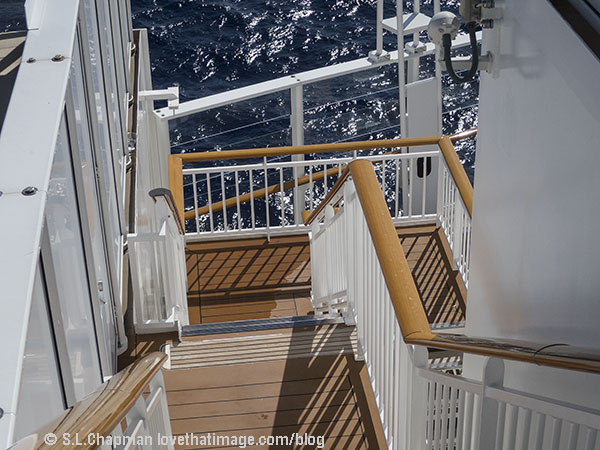 Cruise Ship Stairs