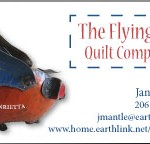 Business card for quilt company